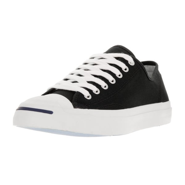 f9515b0cb95 Shop Converse Unisex Jack Purcell Black White Canvas Casual Shoes ...