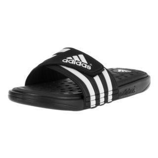 Adidas Men's Adissage Black and White EVA Sandals