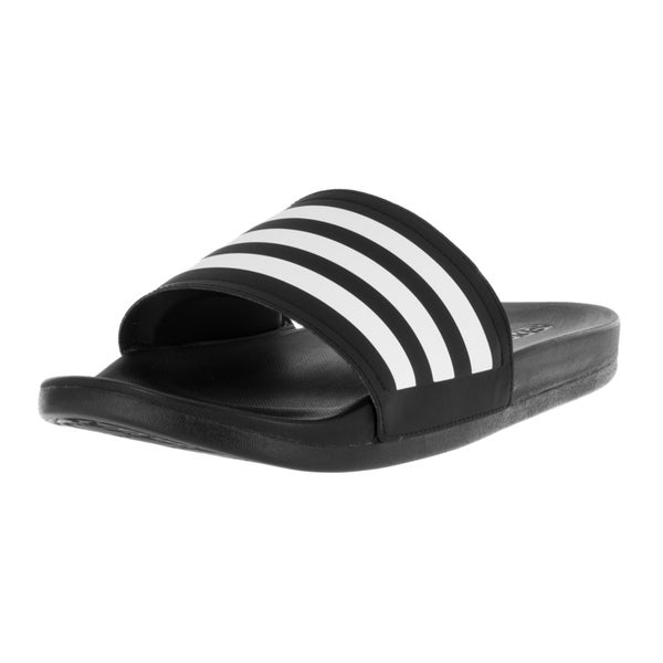 39c08836b9d5 Shop Adidas Men s Adilette CF Ultra C Black Sandal - Free Shipping ...