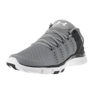 Under Armour Men's UA Micro G Limitless Grey Fabric Running Shoe