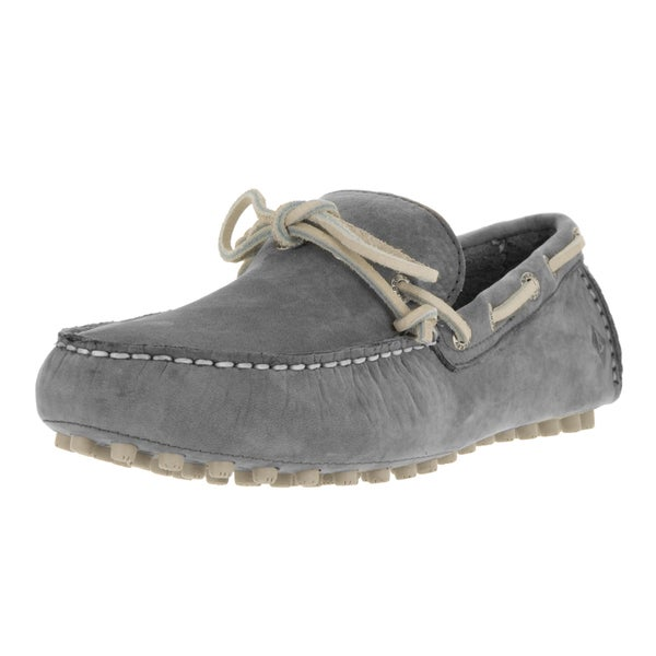 60b1e63546678 Sperry Top-Sider Men's Hamilton Driver Grey Nubuck Loafers and Slip
