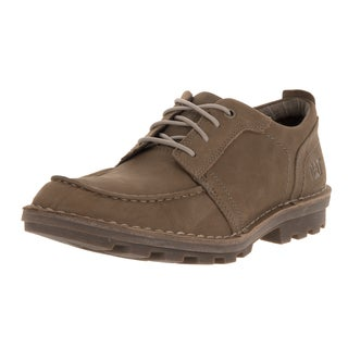 Caterpillar Men's Wagner Newt Brown Leather Lace-up Casual Shoes