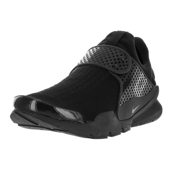 Nike Men's Sock Dart Black, Black, Volt Fabric Running Shoe