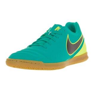 Nike Men's Tiempo Rio III IC Clear Jade/Black Volt Indoor Soccer Shoe