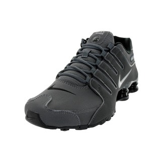 Nike Men's Shox NZ Dark Grey Running Shoe