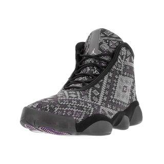 Nike Jordan Men's Jordan Horizon Premium Black Wool Basketball Shoe