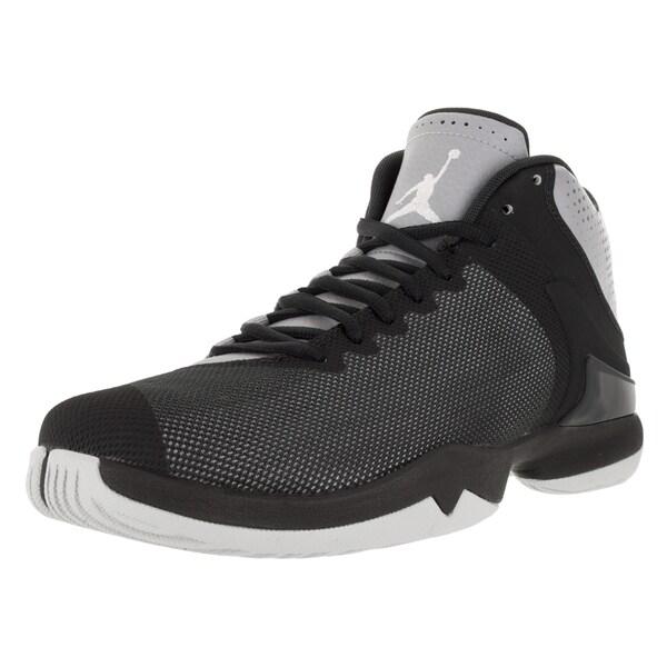 463c0e7fbbdf Shop Nike Jordan Men's Jordan Super.Fly 4 PO Black Fabric Basketball ...