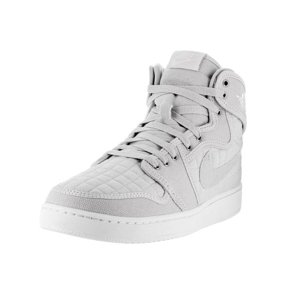best loved 7abf8 bb166 Nike Jordan Men  x27 s Jordan AJ1 KO High OG Pure Metallic Silver Basketball