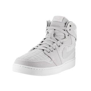 Nike Jordan Men's Jordan AJ1 KO High OG Pure Metallic Silver Basketball Shoes