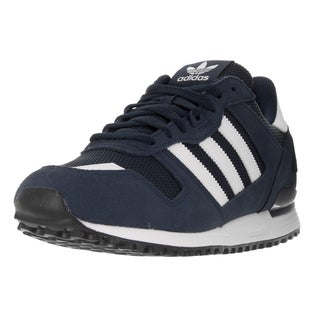 Adidas Men's ZX 700 Originals Dark Blue Suede Running Shoe