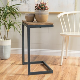Darlah Large Firwood Antique Accent Table by Christopher Knight Home