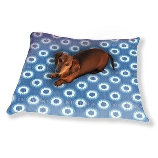 Faux Shibori Dog Pillow Luxury Dog / Cat Pet Bed