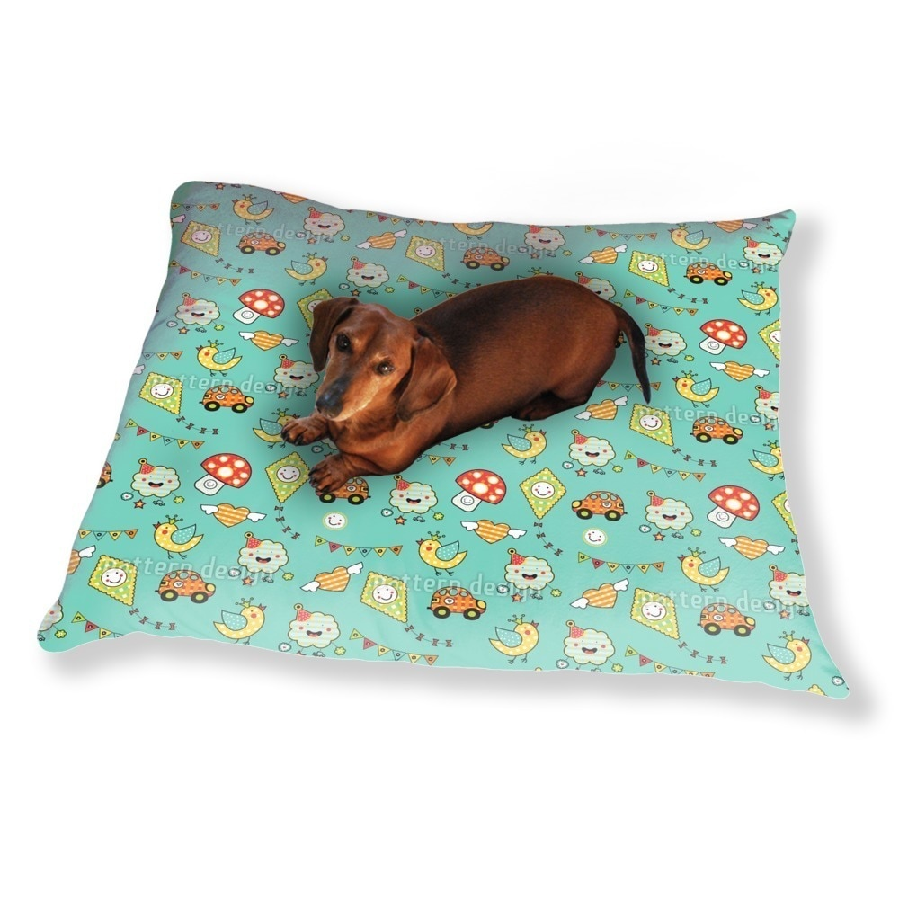 Uneekee Come On Kids Dog Pillow Luxury Dog / Cat Pet Bed ...