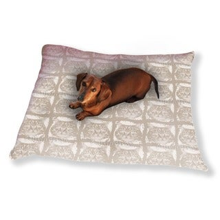 Kitty Minka Brown Dog Pillow Luxury Dog / Cat Pet Bed