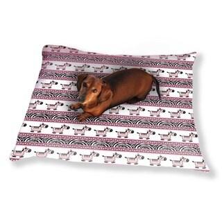 Sweet Zebra Stripes Dog Pillow Luxury Dog / Cat Pet Bed