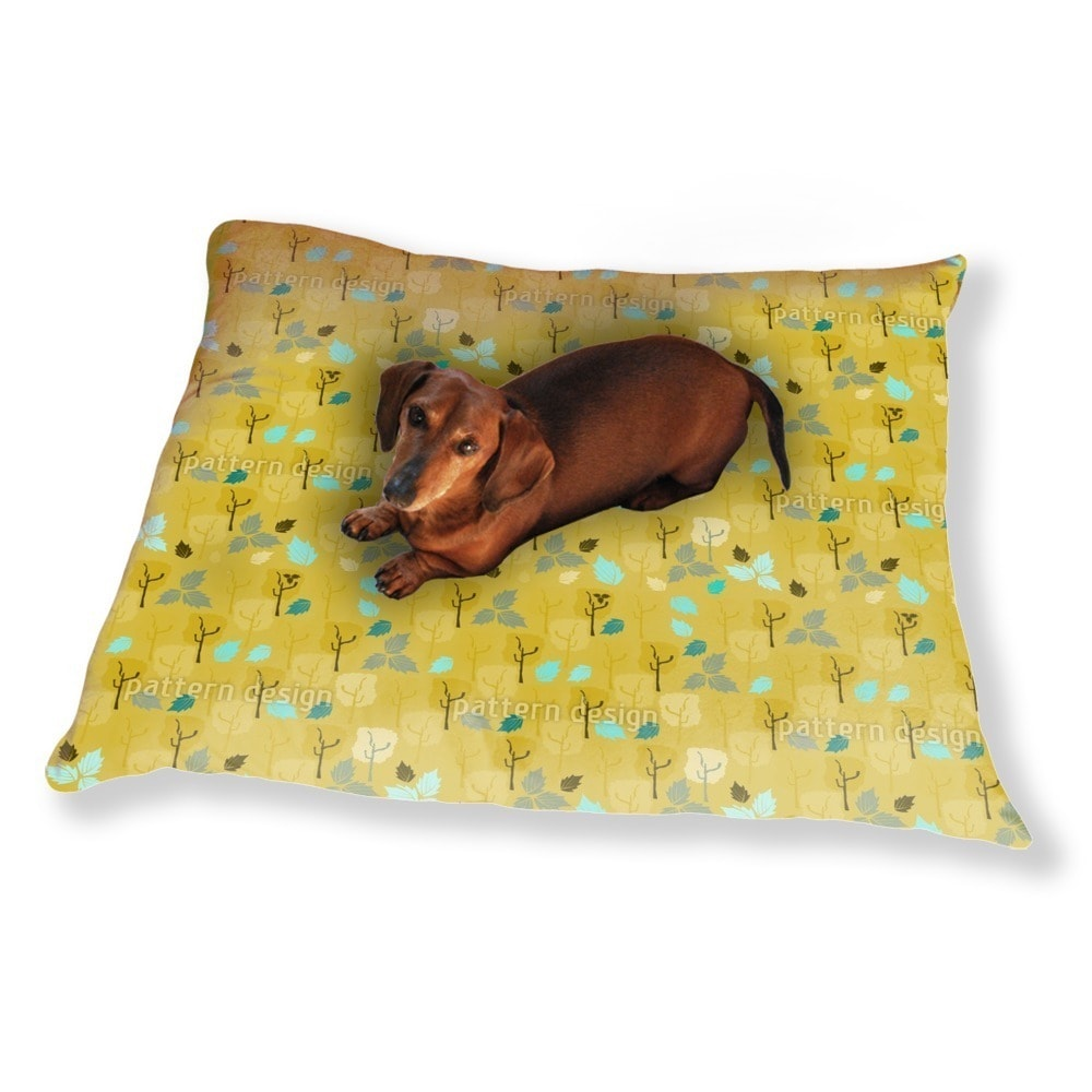 Uneekee When The Last Leaves Fall Dog Pillow Luxury Dog /...