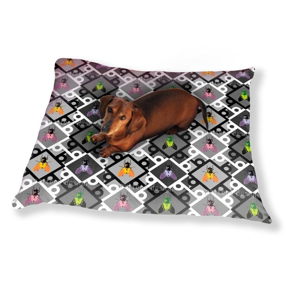 Uneekee Pop Art Fly Dog Pillow Luxury Dog / Cat Pet Bed (...