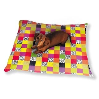 Plaid Go Wild Dog Pillow Luxury Dog / Cat Pet Bed