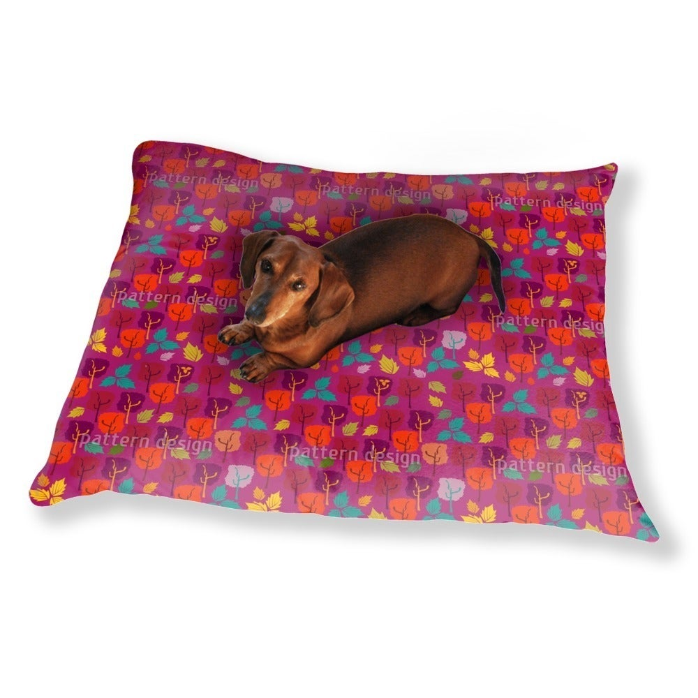 Uneekee When The Leaves Fall Dog Pillow Luxury Dog / Cat ...