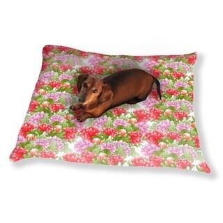 Bouquet Of Peonies Dog Pillow Luxury Dog / Cat Pet Bed