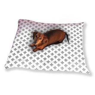 Fleur De Lis Dog Pillow Luxury Dog / Cat Pet Bed