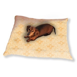 Rose Orange Dog Pillow Luxury Dog / Cat Pet Bed