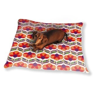 Flower Power Design Dog Pillow Luxury Dog / Cat Pet Bed