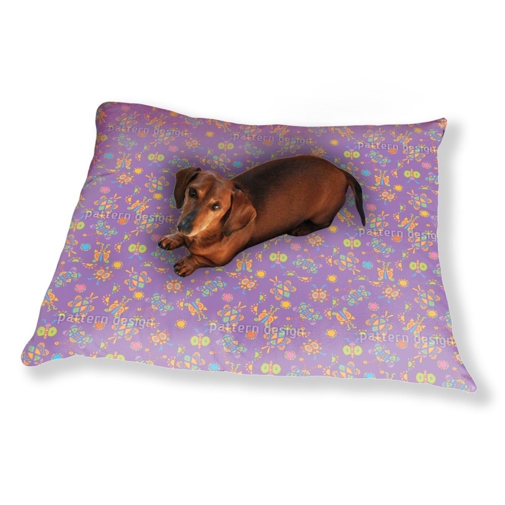 Uneekee Tingle Tangle Violet Dog Pillow Luxury Dog / Cat ...