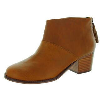 Toms Women's Leila Warm Tan Leather Boot