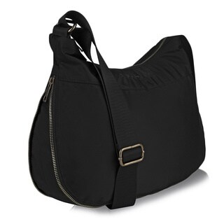 Suvelle BA20 RFID Expandable Hobo Travel Crossbody Bag - L