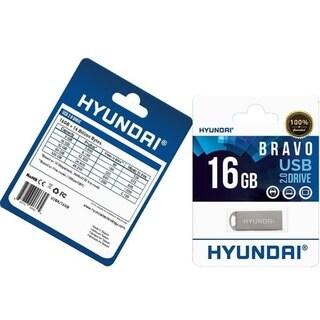 Hyundai 16GB Bravo USB 2.0 Flash Drive