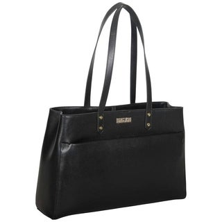 Kenneth Cole Reaction Saffiano Dual Compartment 15-inch Laptop Tote Bag