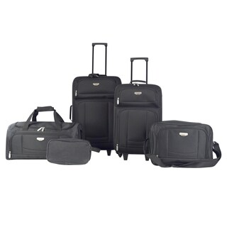 Travelers Club Tuscany 5-piece Rolling Luggage Set