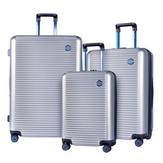 Travelers Club Beijing 3-piece Expandable Hardside Spinner Luggage Set