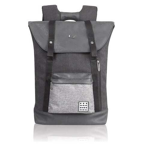 Solo Urban Code Grey Polyester 15.6-inch Laptop Backpack
