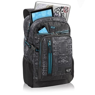 Solo NYC Midnight Lights Polyester 15.6-inch Laptop Backpack