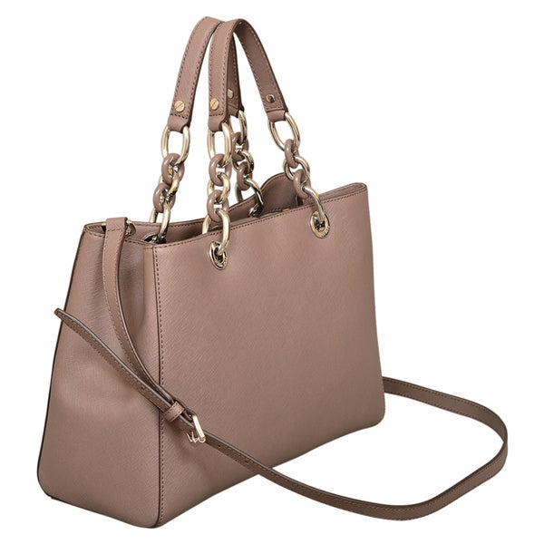Michael Kors Cynthia Medium Cinder Satchel Handbag
