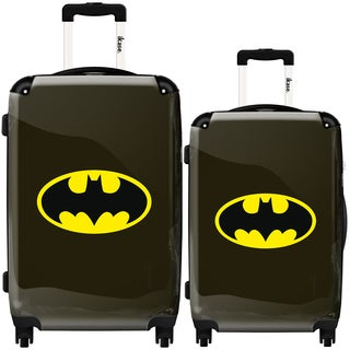 iKase Batman 2-piece Hardside Spinner Luggage Set
