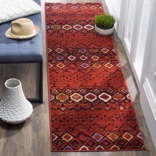 Safavieh Amsterdam Bohemian Terracotta/ Multicolored Runner (2' x 8')