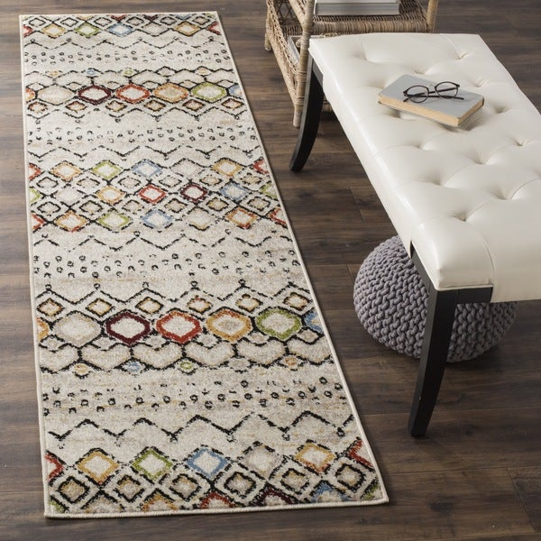 Shop Safavieh Amsterdam Bohemian Ivory Multicolored