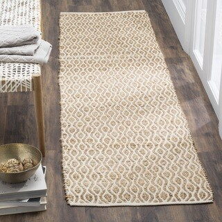 Safavieh Hand-Woven Cape Cod Natural Cotton Runner (2' 3 x 8')