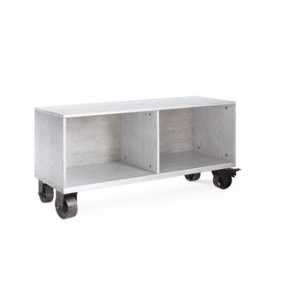 Haven Home Maddox Grey Storage Drawers with Casters by Hives & Honey