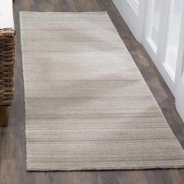 Safavieh Handmade Himalaya Stone Wool Runner Rug (2' 3 x 8')