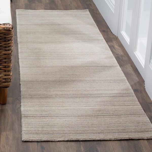 Safavieh Handmade Himalaya Stone Wool Runner Rug - 2' 3 x 8'