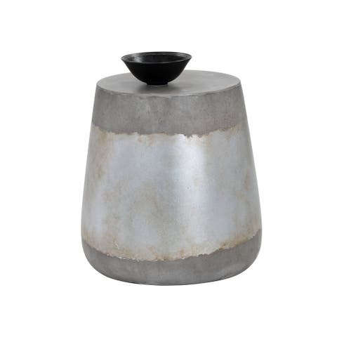 Aries Concrete Accent Table