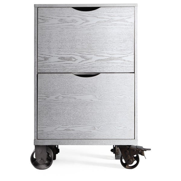 The Gray Barn Brick House Grey Storage Drawers with Casters