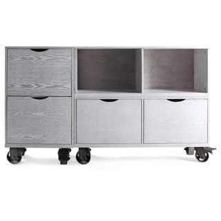 Haven Home Archer Storage Unit with Casters by Hives & Honey