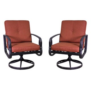 Aspen Swivel Rocking Chair Set