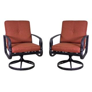 Aspen Swivel Rocking Chair Set