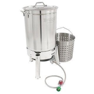 Bayou Classic Stainless 44-quart Boiler/ Steamer Kit